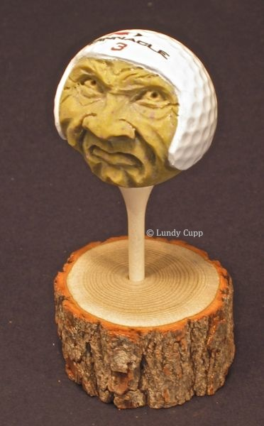 Golf ball carving lundy cupp