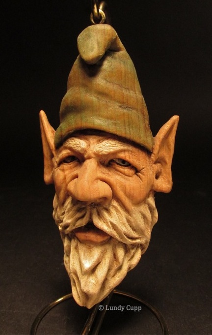 Santas Elves Gnomes Carvings